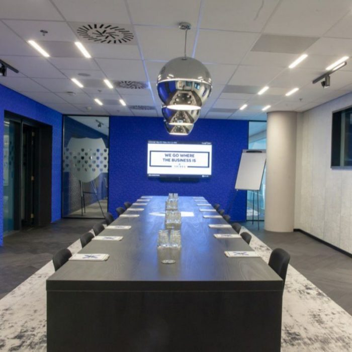 Tribes Amsterdam Zuidas meeting room
